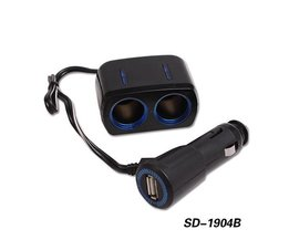 2 Port USB Car Charger Splitter