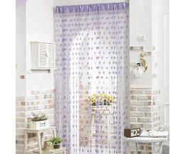 Romantische Vorhang Mit Einem Herzen Aus Polyester 2 X 1 Meter