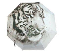 Regenschirm Mit Tiger Entwurf