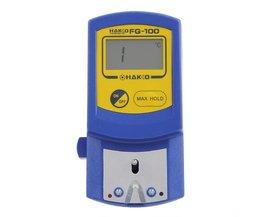 Thermometer Lötkolben