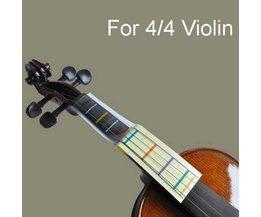 Violine, Lernen, Spielen Karten-Tool