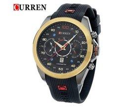 CURREN 8166 Sport-Uhr In Mehreren Farben