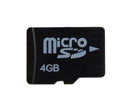 Micro SD Card 4GB