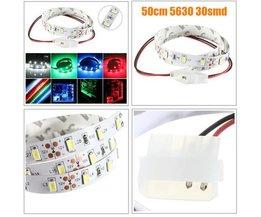 Nicht Wasserdicht Flexible LED-Streifen 12V 50CM
