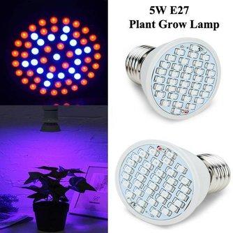 5W E27 Wachsen Lampe
