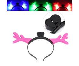 LED Hirschgeweih Stirnband Für Partys