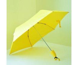 Yellow Umbrella In Form Einer Banane