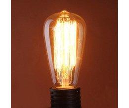 E27 Edison-Art-Glühlampe 60W