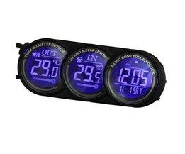 Auto-Thermometer, Kalender Und Uhr