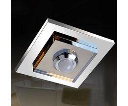 LED-Decken Edelstahl