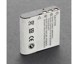 NP-40 Batterie Für Casio EX-Z1000 Kamera
