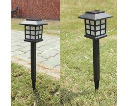 LED Gartenleuchten Wasserdichtes Solar Powered