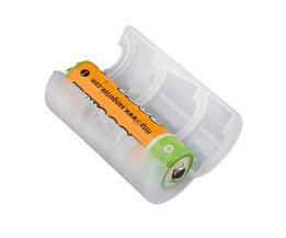 AA Bis C Batterie-Adapter