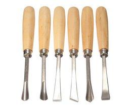 Holzschnitzerei-Werkzeug-Set Mit 6 Stück