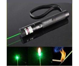 Laserpointer 5Mw Mit Grünem Laserlicht Und Fokus Brennen.