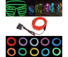 LED-Streifen In Verschiedenen Farben