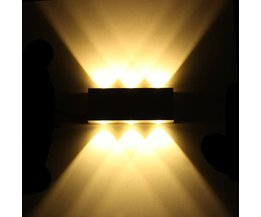 Dekorative LED-Wandleuchte Mit Warmweißen Licht