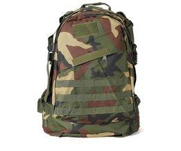 Rucksack Mit Camouflage Motiv Für Außen
