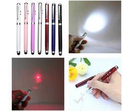 4 In 1 Laser-Feder-Kugelschreiber-Funktion