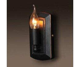 Weinlese-Wand-Lampe Für Eine Stimmungsvolle Beleuchtung