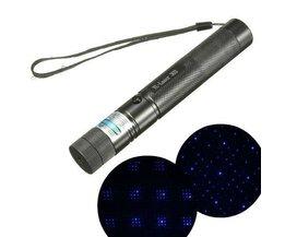 Leistungsstarke Laser Lila Mit Einstellbarer Fokus