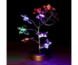 Atmosphere LED-Lampen Mit Schmetterlingen