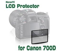 Displayschutzfolie Nikon Canon EOS 700D