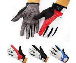 Vollfinger Radfahren Handschuhe