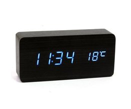 USB / AAA Holz Digital Clock