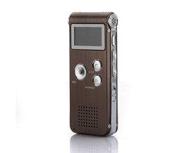 Digital Voice Recorder Und MP3-Player 8 GB