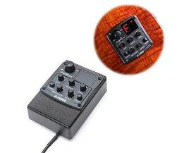 3-Band-Equalizer Für Akustikgitarre