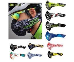 Mund-Maske Mit Aktivkohle Geeignet Für Fahrräder Und Motorräder