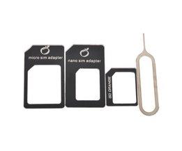 Nano-SIM Für Kleinst- Und Konvertieren Von Standard-SIM-Karte