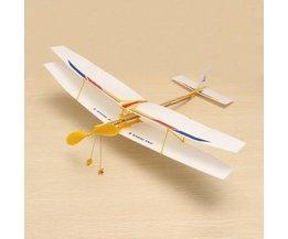 Flugzeug Sich Mit Gummiband