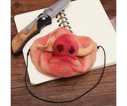 Kleid Maske Schwein