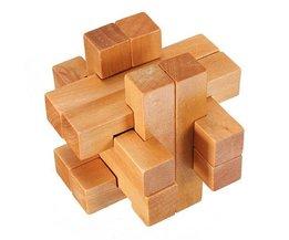 Hölzerne Blöcke Puzzle