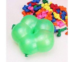 Luftballons Set In Blütenform