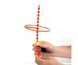 Fröhlich Farbigen Kunststoff-Spielzeug-Propeller