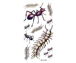 Tattoo-Stick Insekten