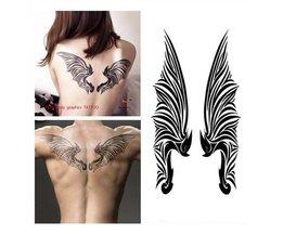 Fake Tattoo-Aufkleber Flügel