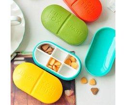 Bequeme Pill-Box Mit 6 Boxen