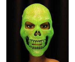 Luminous Halloween-Maske