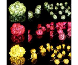 Blumen-Girlande LED