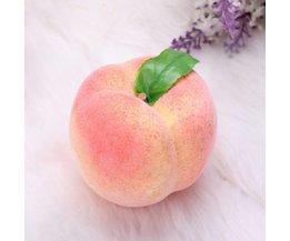 Ornamental Obst: Pfirsiche Kunst
