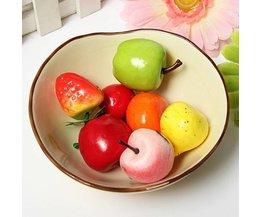 Kunststoff Obst Dekorationen