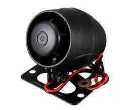 12V Auto-Alarm-Sirene Für Ein Besseres Auto Sicherheit