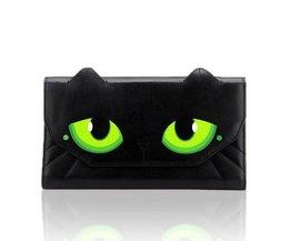 Mädchen PU-Leder-Handtasche Mit Katzenaugen