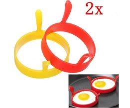 Egg Bakring Silikon 2Pcs