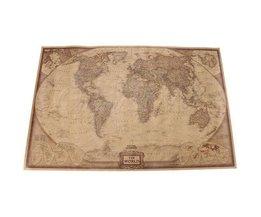 Welts-Karten-Plakat