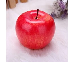 Dekoration Äpfel 5Pieces